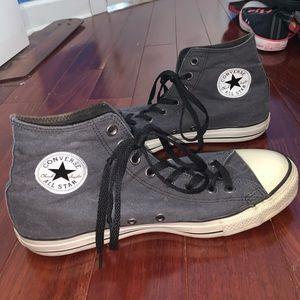 Chuck Taylor Hightop Vintage Faded Black Converse